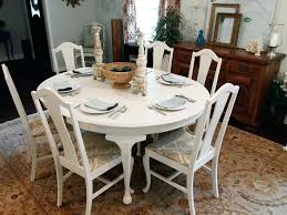 white round dining table for 6 dining room table attractive white distressed dining table ideas with