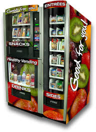 Healthy Food Vending Machine
