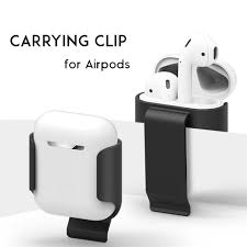 Airpod Case White Light Us 2 02 29 Off Carrying Clip Case For Apple Airpods Bracket Belt Clip Pocket Holder Accessory For Apple Air Pods Ultra Light Earphone Case In