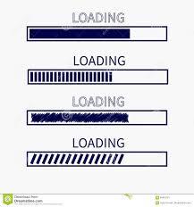 Download Timer Loading Progress Status Bar Icon Set Web Design App
