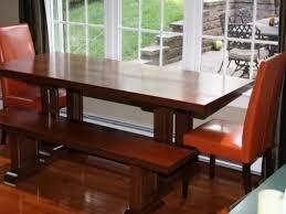 Panca Per Sala Da Pranzo : Elegante rettangolo marrone lucido tavolo da pranzo in