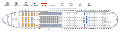 United Plane Seating Chart United Airlines Boeing 777 200s Airliners Net