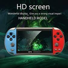 Máy chơi game cầm tay điện tử 4 nút mini X7 nghe nhạc xem phim ebook game  sup per HD screenmanf hình 30fps | Senvangshop