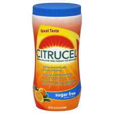 citrucel fiber therapy sugar free methylcellulose for regularity orange flavor