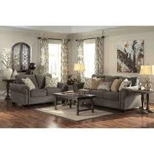 Adhley Furniture ashley furniture emelen living room set in alloy local furniture 5425 by uwakikaiketsu.us