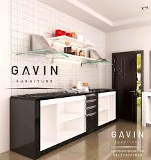 interior design kitchen. Design Kitchen Cabinet Kompor Minimalis Warna Hitam By Gavin Q2920 Interior