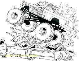 Free Truck Coloring Pages Batman Monster Truck Coloring Pages Page