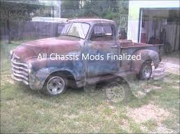 S10 Chassis swap for 51 Chevy Truck: tear down and Mock up 4-24 ...