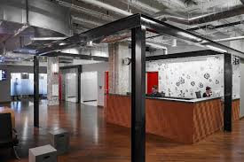 Image Business Reception Officelovin Take Look At Yelps New Office In Chicago Officelovin