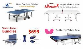 table tennis tables for
