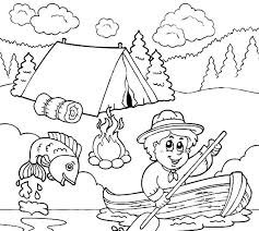 Small Picture Cub Scout Coloring Book Pages Coloring Pages Ideas