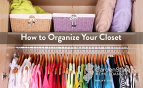 tips to organize your closet