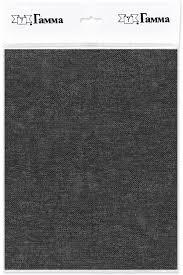 <b>Канва</b> для вышивки <b>Gamma Linda</b>, цвет: черный, 50 х 50 см. K27 ...