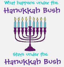 Image result for hanukkah bush
