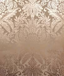 crown signature foil rose gold wallpaper