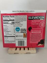 millville elevation protein bars carb