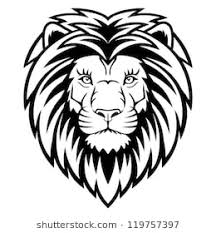 lion face black and white clipart. Wonderful Clipart A Lion Head Logo In Black And White This Is Vector Illustration Ideal For A For Face Black And White Clipart N