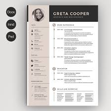 Brief Design Vorlagen Creative Cv Example Original Cv Design Resume