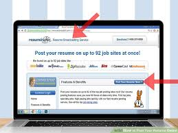 Resume Posting Gorgeous How To Post Your Resume Online 60 Steps With Pictures WikiHow