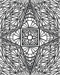 Traditional Islamic Mosaic Coloring Page Free Printable Coloring