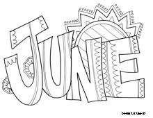 june coloring page calming coloring books pinterest