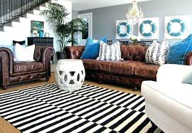 black and white striped rug target nz