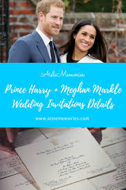 Following the service at windsor castle on 19 may, all 600 guests will attend a lunchtime reception at st george's hall, which is being given by the queen. Prince Harry Meghan Markle Wedding Invitations Details