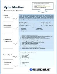 Examples Of Administrative Assistant Resumes Administrative Resume Objective Template Assistant Resumes Office