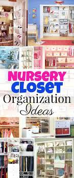 Diy Storage Container Ideas Nursery Closet Organization Tips And Ideas Great Hacks Diy Storage