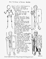 Image result for how to draw a roman warrior | Ancient art ...