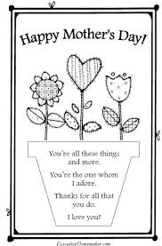 Small Picture Mothers Day Poems For Kids Poem Handprint Heartjpg Coloring Page