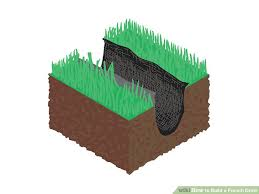 image titled build a french drain step 6