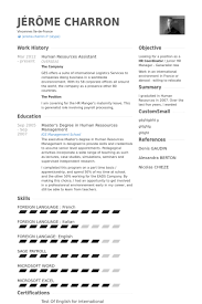 Human Resources Assistant Resume Examples Interesting Human Resources Assistant Resume Samples Kubreeuforicco