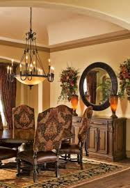 tuscan style dining room with traditional chandelier and round on tuscan lighting dining room