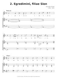 Egredimini - Alessandro Grandi Sheet music for Recorder, Oboe (Mixed Trio)    Musescore.com