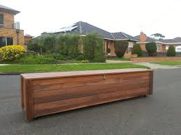 outdoor storage box for cushions merbau bench storage box melbourne outdoor dining furniture