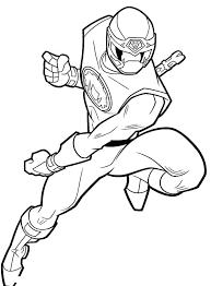 Ninja Steel Coloring Pages