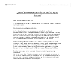protocol essay  kyoto protocol essay