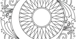 Free Printable Mandala Coloring Pages For Adults Only Halloween Pdf