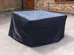 black garden furniture covers. Rattan Furniture Cover / Black - Small Cube Garden Covers R