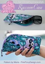 Sew a Glasses Case or Sleeve   Glasses case, Sewing patterns and ... & Raccoon Case - A Sunglasses Zipper Case   Craftsy Adamdwight.com
