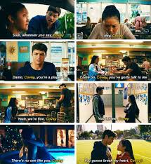 Lara jean writes a letter to all the boys she loved before, but she puts them in a hat box and one day she comes home and they aren't there. Peter Calling Lara Jean Covey To All The Boys I Ve Loved Before Romantic Movies Love Movie Romance Movies Quotes