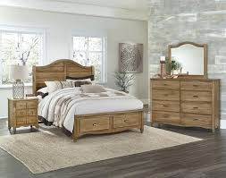 vaughan bassett bonanza bedroom set maple storage 4 1 2 bassett queen bedroom sets