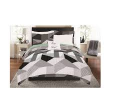mainstays patchwork prism bed in a bag