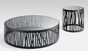 rolf benz ag. Contemporary Coffee Table / Glass Steel Round 8330 By Norbert Beck Rolf Benz Ag