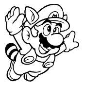 Small Picture Coloring page Mario Bros and Luigi Nintendo 4765