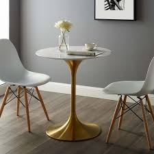 Modway Dining Tables On Sale Eei 3213 Gld Whi Lippa 28 Round
