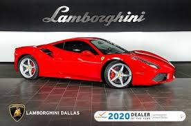 Spotted for the first time in centennial (co). Used 2017 Ferrari 488 Gtb For Sale Richardson Tx Stock 20l0237a Vin Zff79ala6h0220819