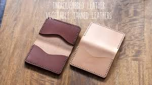 review thoroughbred leather natural and walnut vegetable tanned leathers you