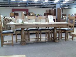 furniture winsome dining table set 12 seater 13 antique seat and wood chairs table